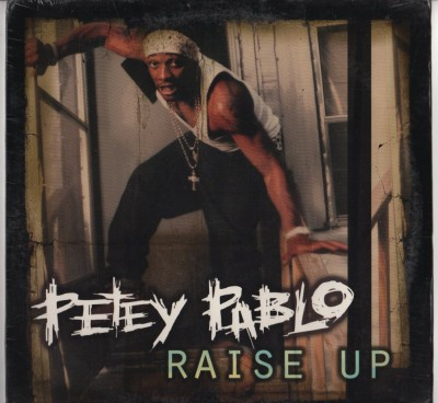 Petey Pablo - Raise Up - hip hop vinyl record - www.jiggyjamz.com