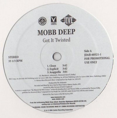 Mobb Deep - Got It Twisted - Clap Those Thangs ft 50 Cent