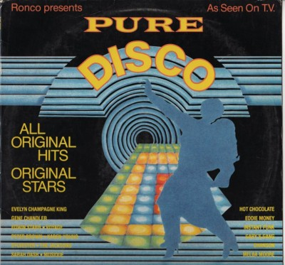 Pure Disco LP Compilation
