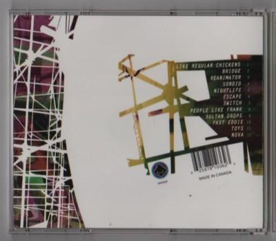 Amon Tobin - Permutation CD - zenCD 36 - 1998 - www.jiggyjamz.com