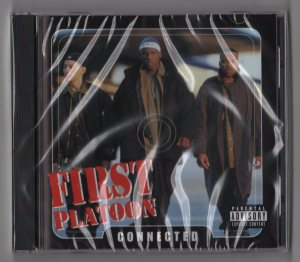 First Platoon - Connected (CD) New 1999 Florida Hip-Hop - www.jiggyjamz.com