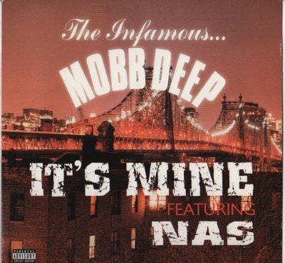 "Mobb Deep ft. Nas - It's Mine (12"") vinyl record - A capella www.jiggyjamz.com"