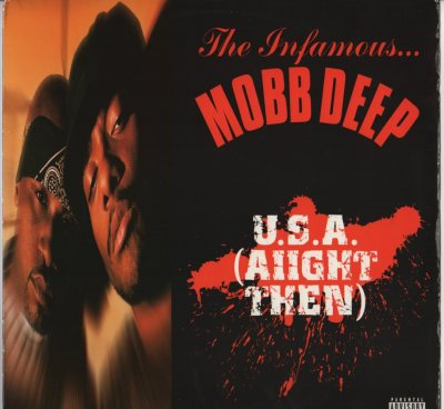 "Mobb Deep - U.S.A. Aiigt The - Spread Love (12"" - vinyl record) www.jiggyjamz.com"
