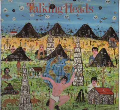 Talking Heads - Little Creatures LP vinyl record 1985 - www.jiggyjamz.com