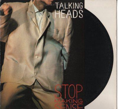 Talking Heads - Stop Making Sense (live - LP) vinyl record, 1984 - www.jiggyjamz.com