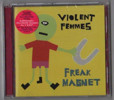 Violent Femmes - Freak Magnet (CD) Bonus Tracks 2005 - www.jiggyjamz.com