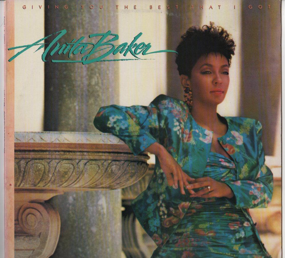 Anita Baker Giving You The Best That I Got Lp