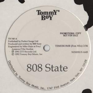 808 State - TimeBomb - Nimbus - Reaper Repo - vinyl - www.jiggyjamz.com