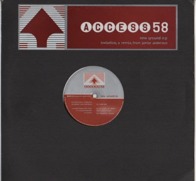 Access 58 - New Ground EP - vinyl - www.jiggyjamz.com
