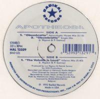 Apotheosis - Obumbratta - vinyl - www.jiggyjamz.com