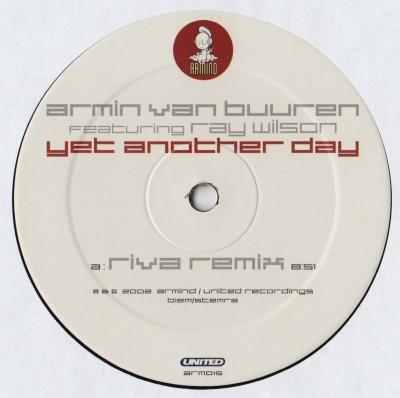 Armin van Buuren Featuring Ray Wilson - Yet Another Day Remixes - vinyl - www.jiggyjamz.com