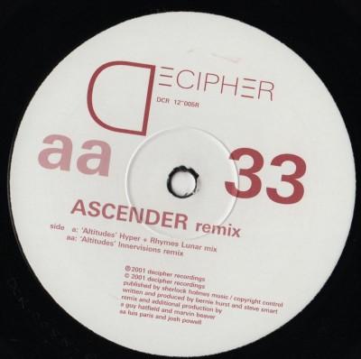 Ascender - Altitudes-100,000 Miles - vinyl - ww.jiggyjamz.com