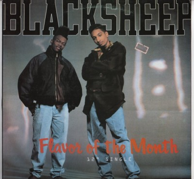 Black Sheep - Flavor Of The Month - vinyl - picture cover - www.jiggyjamz.com