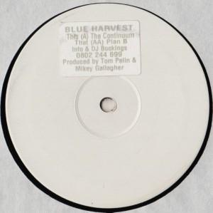 Blue Harvest - The Continuum - vinyl - trance - www.jiggyjamz.com