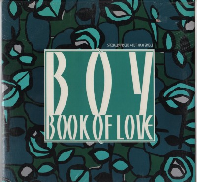 "Book Of Love - Boy 12"" vinyl record - www.jiggyjamz.com"