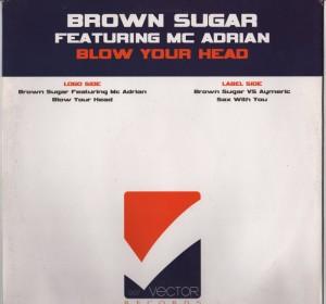 Brown Sugar - Blow Your Head - sax with you - vinyl www.jiggyjamz.com