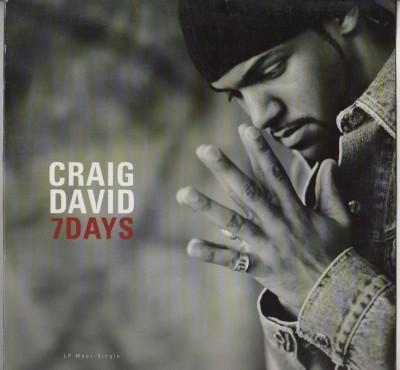 """Craig David - 7 Days (Mos Def, DJ Premier, Fat Joe Remixes) 12"""" vinyl - www.jiggyjamz.com"""