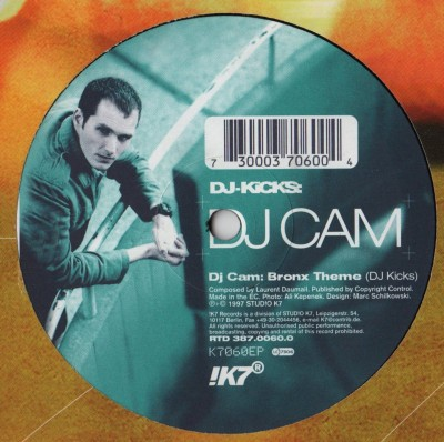 DJ Cam - Bronx Theme - DJ Kicks - vinyl - www.jiggyjamz.com