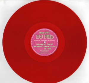 DJ Flip - Take Off - red vinyl - www.jiggyjamz.com