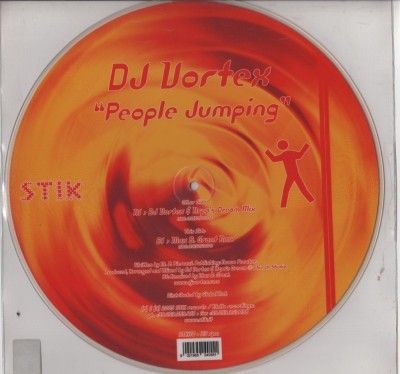 DJ Vortex - People Jumping - picture disc - www.jiggyjamz.com