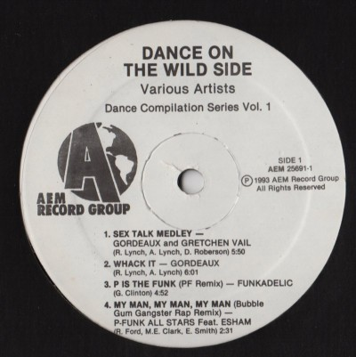 Dance On The Wild Side - P-Funk All-Stars - funkadelic - Brittany Blake - www.jiggyjamz.com