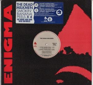 "Dead Milkmen - Smokin Banana Peels - 12"" vinyl - www.jiggyjamz.com"
