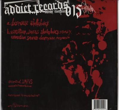 """Doormouse And Venetian Snares - Skelechairs - 12"""" vinyl - limited - www.jiggyjamz.com"""