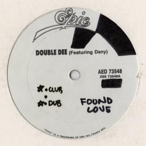 Double Dee - Found Love - classic vocal house - www.jiggyjamz.com