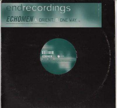 Echomen - Orient - One Way - vinyl - www.jiggyjamz.com