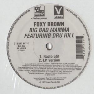 Foxy Brown - Big Bad Mamma - vinyl - www.jiggyjamz.com