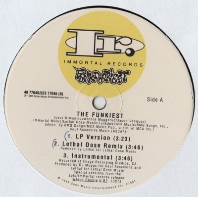 Funkdoobiest - The Funkiest - Freak Mode vinyl - www.jiggyjamz.com