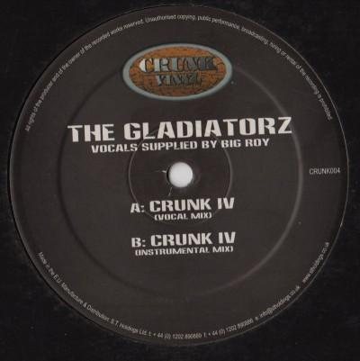 Gladiatorz - Crunk IV - jungle vinyl - www.jiggyjamz.com