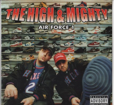 The High And Mighty - Air Force 1 - NEW vinyl record - www.jiggyjamz.com