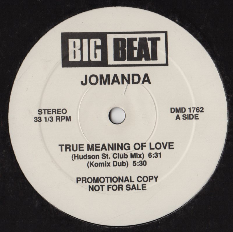 Jomanda true meaning of love 12 jiggyjamz vinyl for Define house music