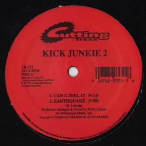 Keith Litman - Kick Junkie 2 - vinyl - www.jiggyjamz.com