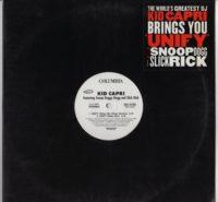 Kid Capri - Snoop Dogg - Slick Rick - Unify - vinyl - www.jiggyjamz.com
