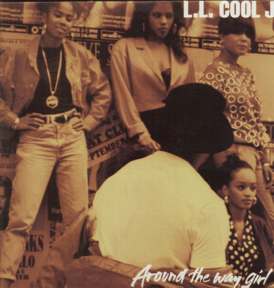 LL Cool J - Around The Way Girl - vinyl - Picture cover - www.jiggyjamz.com