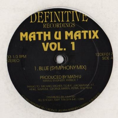 Math u Matix - V1