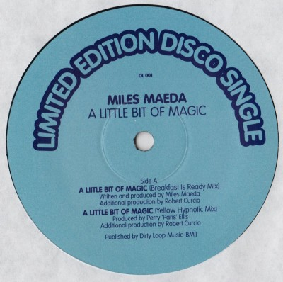 Miles Maeda - A Little Bit Of Magic - boo williams - glenn underground, chicago house - www.jiggyjamz.com