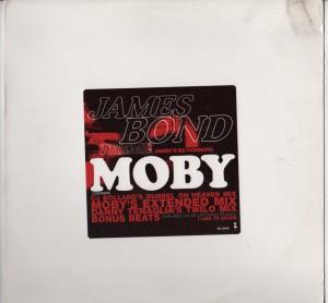 Moby James Bond - vinyl - www.jiggyjamz.com