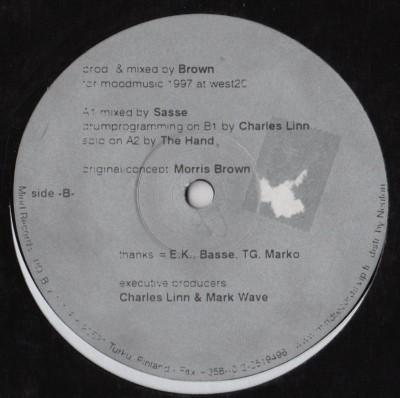 Morris Brown - Minerals - vinyl - 1997 - www.jiggyjamz.com