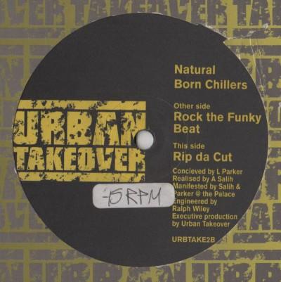 Natural Born Chillers - Rock The Funky Beat 12 Inch - www.jiggyjamz.com