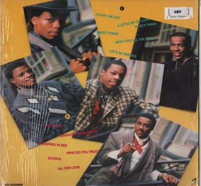 New Edition - All For Love -