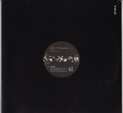 OMD - Brides Of Frankenstein - Acid House Remix - vinyl - www.jiggyjamz.com