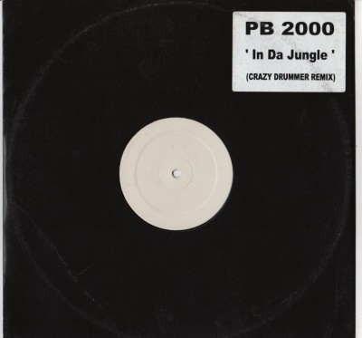"PB 2000 - In Da Jungle Crazy Drummer Mod Wheel (12"")"