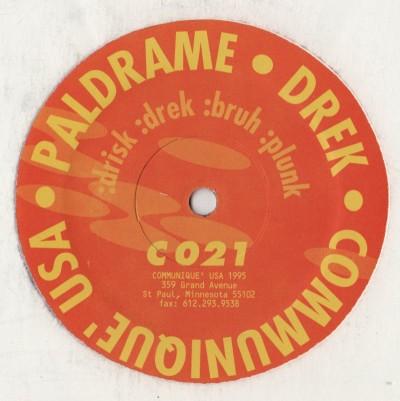 Paldrame - Drek - communique - www.jiggyjamz.com