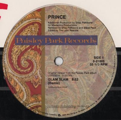 "Prince - Glam Slam - Escape - 12"" vinyl - www.jiggyjamz.com"