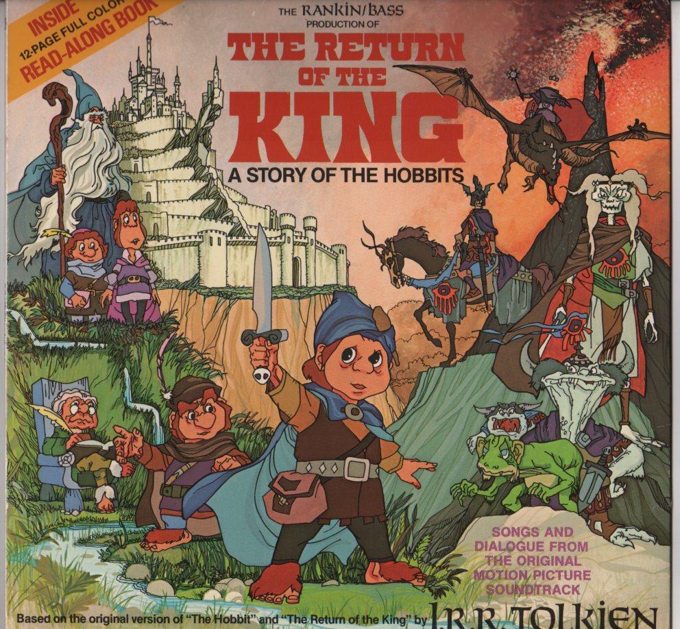 Rankin Bass The Return Of The King Lp Jiggyjamz