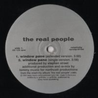 Real People, The - Window Pane - vinyl - www.jiggyjamz.com