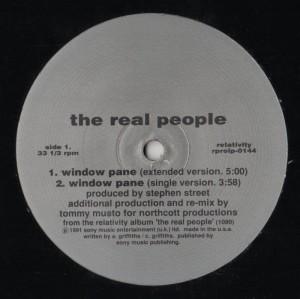 Real People, The - Window Pane - vinyl - www.jiggyjamz.com